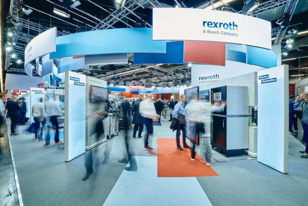 Bosch Rexroth – SPS 2018 & 2019